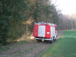 Technische Hilfe, Tragehilfe im Wald