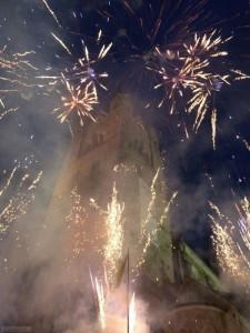 Brandsicherheitswache bei Feuerwerk